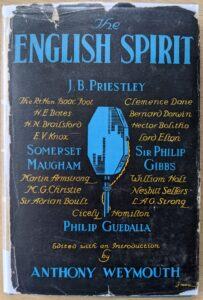 The English Spirit - Hugh Walpole