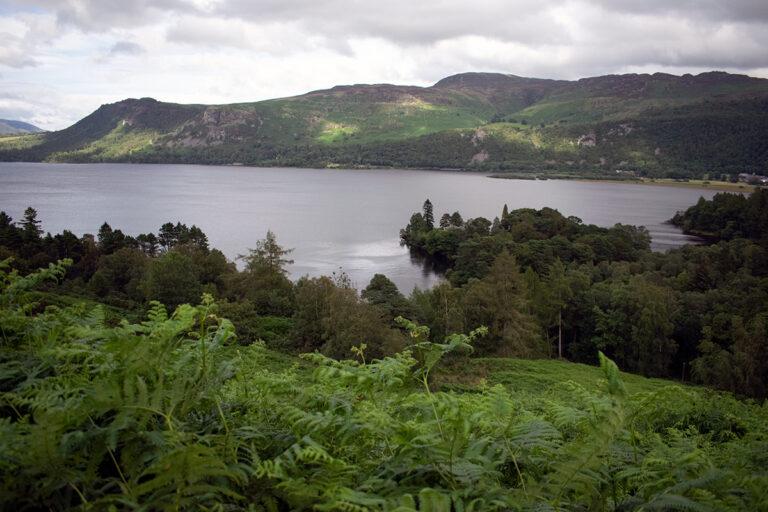 The view over Derwentwater from Brackenburn, Hugh Walpole's Lake District Home